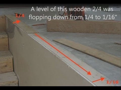 Howto Level Concrete Subfloor For Laminate Hardwood Stair Nosing - How to level floor for laminate on concrete