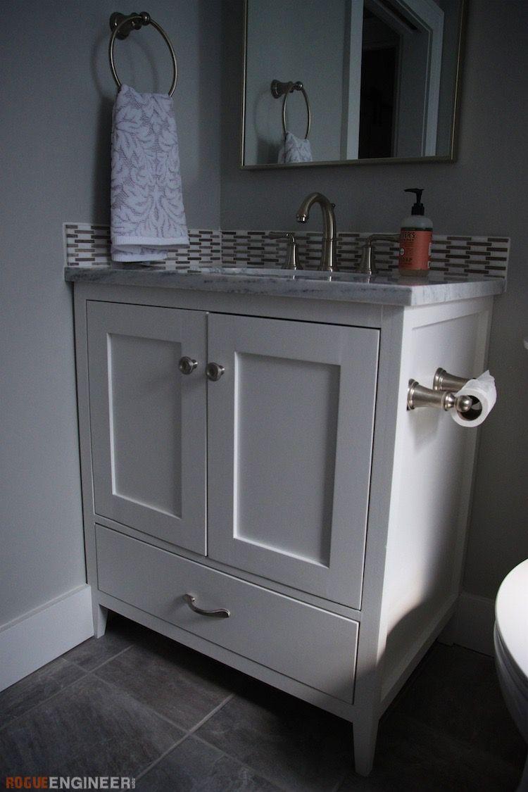 30in Bathroom Vanity Rogue Engineer Diy Bathroom Bathroom Vanity Bedroom Vanity