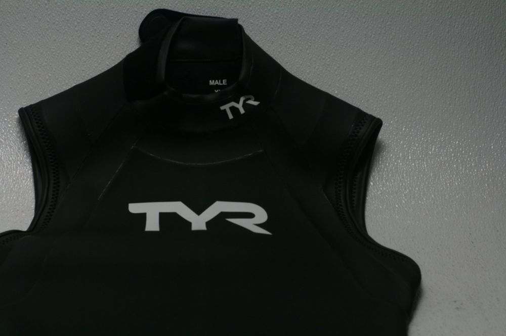 8263195b210ae TYR SPORT Men s Hurricane Sleeveless Wetsuit Category 1 Black White X-Large  (eBay Link)