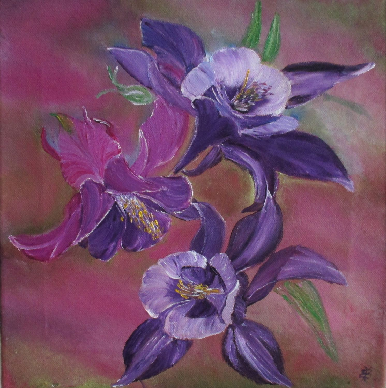Dein Marktplatz Um Handgemachtes Zu Kaufen Und Verkaufen Oil Painting Flowers Flower Painting Flower Art