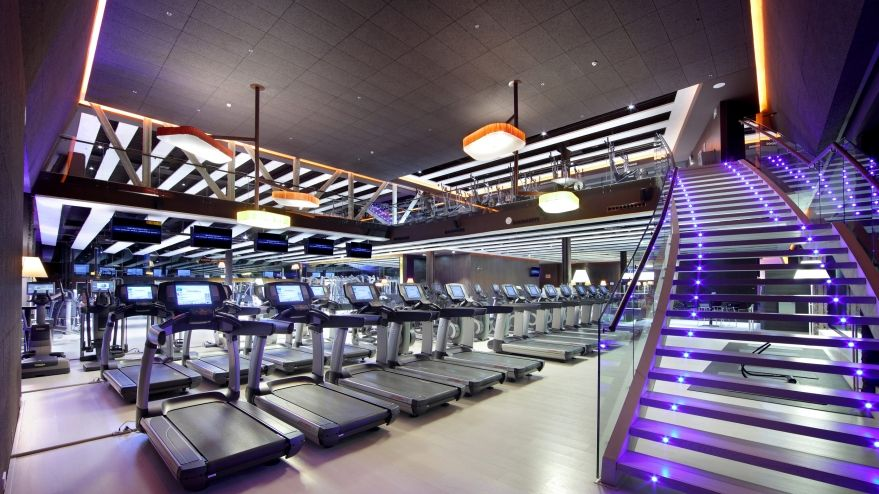 Modern fitness design gym specific layouts for Gimnasio fitness club