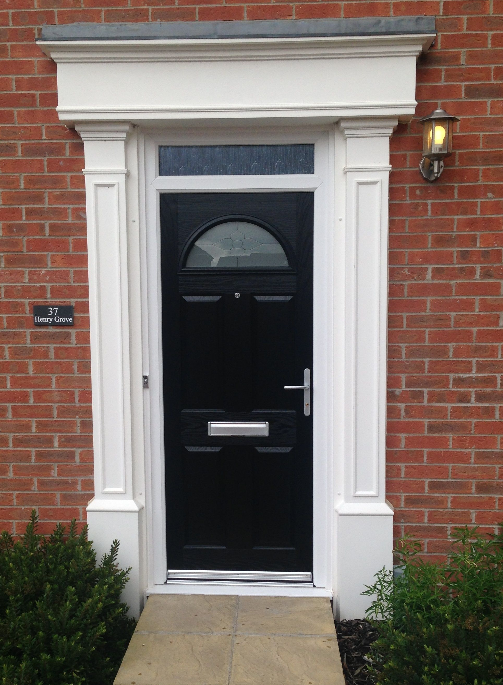 Composite Doors in Leeds York \u0026 Harrogate | Kingfisher Windows & Composite Doors | Leeds 1930s house and House front