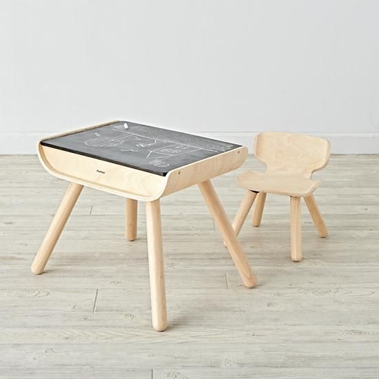 Toddler Desk And Chair Set The Land Of Nod Childrens