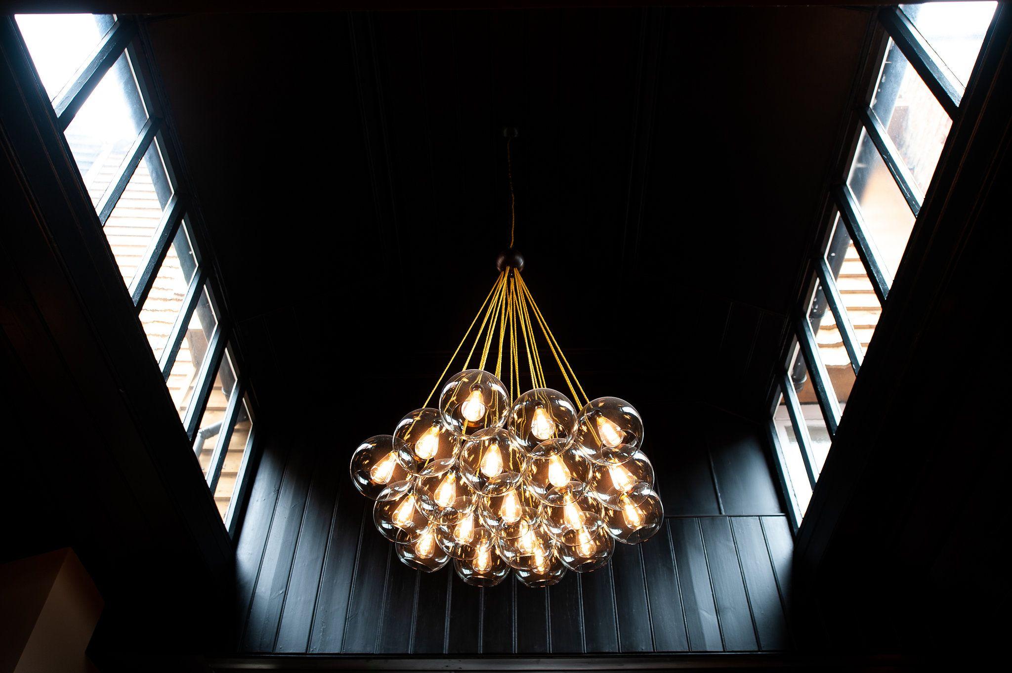 Fritz fryer cluster pendant light set commercial lighting in