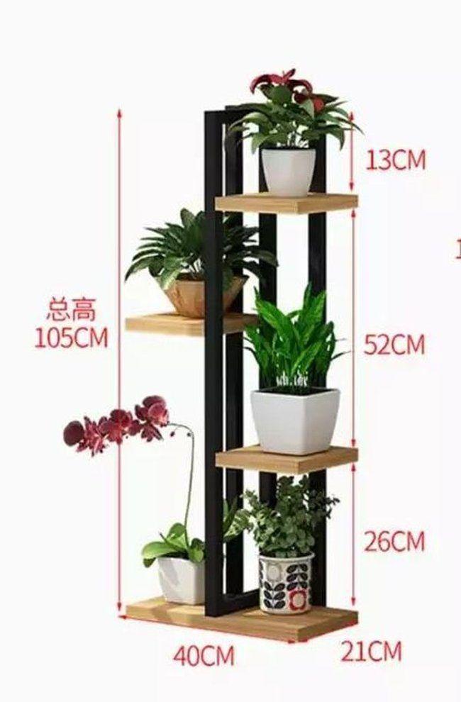 Идеи полок для цветов