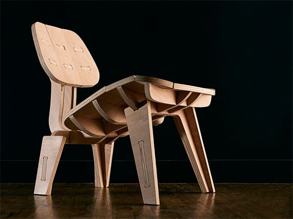 Build Your Own Beautiful Flat Pack Chair Cnc Furniture Plans Flat Pack Furniture Plywood Diy