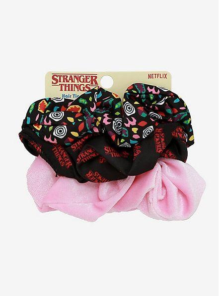 Stranger Things Eleven Scrunchie SetStranger Things Eleven Scrunchie Set,