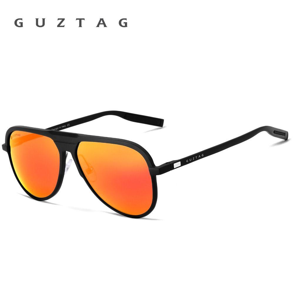 825e81a895 GUZTAG Unisex Classic Brand Men Aluminum Sunglasses HD Polarized UV400  Mirror Male Sun Glasses Women For Men Oculos de sol G9828-in Sunglasses  from Men s ...