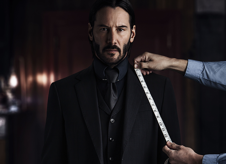 Look Great In A Suit With Keanu Reeves John Wick 3 Workout Keanu Reeves John Wick Keanu Reeves John Wick Movie
