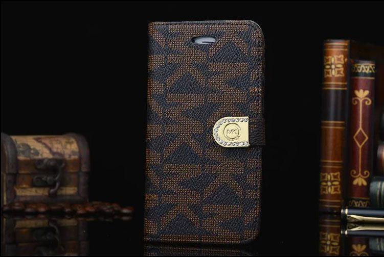 Michael kors iphone 7 case folio brown iphone case