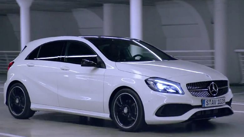 Mercedes Benz A Class A200 Amg Song By Frequency Soulcircuit