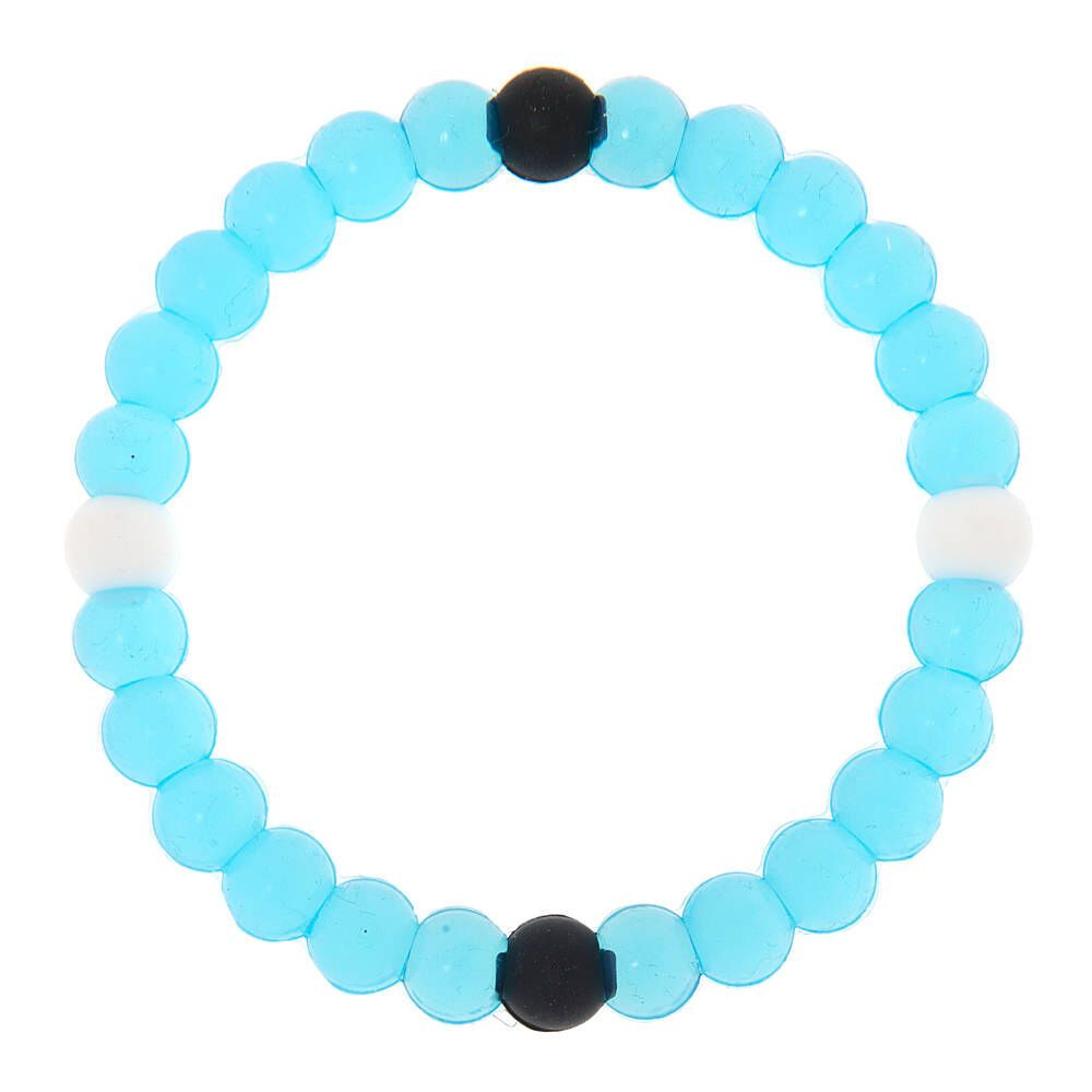 Claire's Fortune Stretch Bracelet - Turquoise