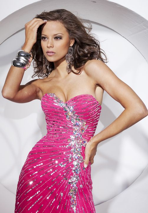 Tony Bowls prom dresses from Serendipity $498 | Tony Bowls | Pinterest