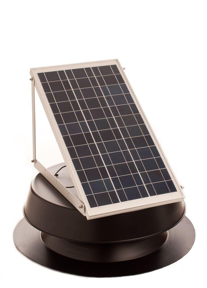 Solar Attic Fan 30 Watt W Thermal Switch Esm With Images