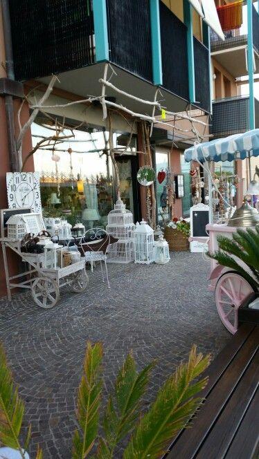 Winkeltje in Caorle, Italie