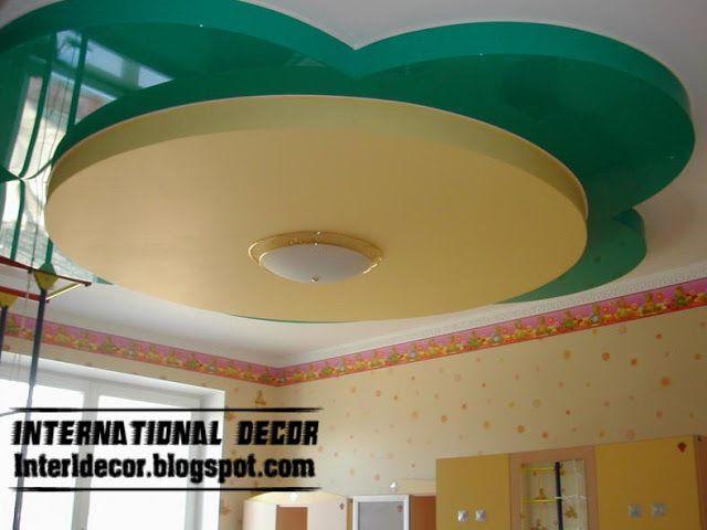 Top catalog of modern false ceiling designs for kids room interior