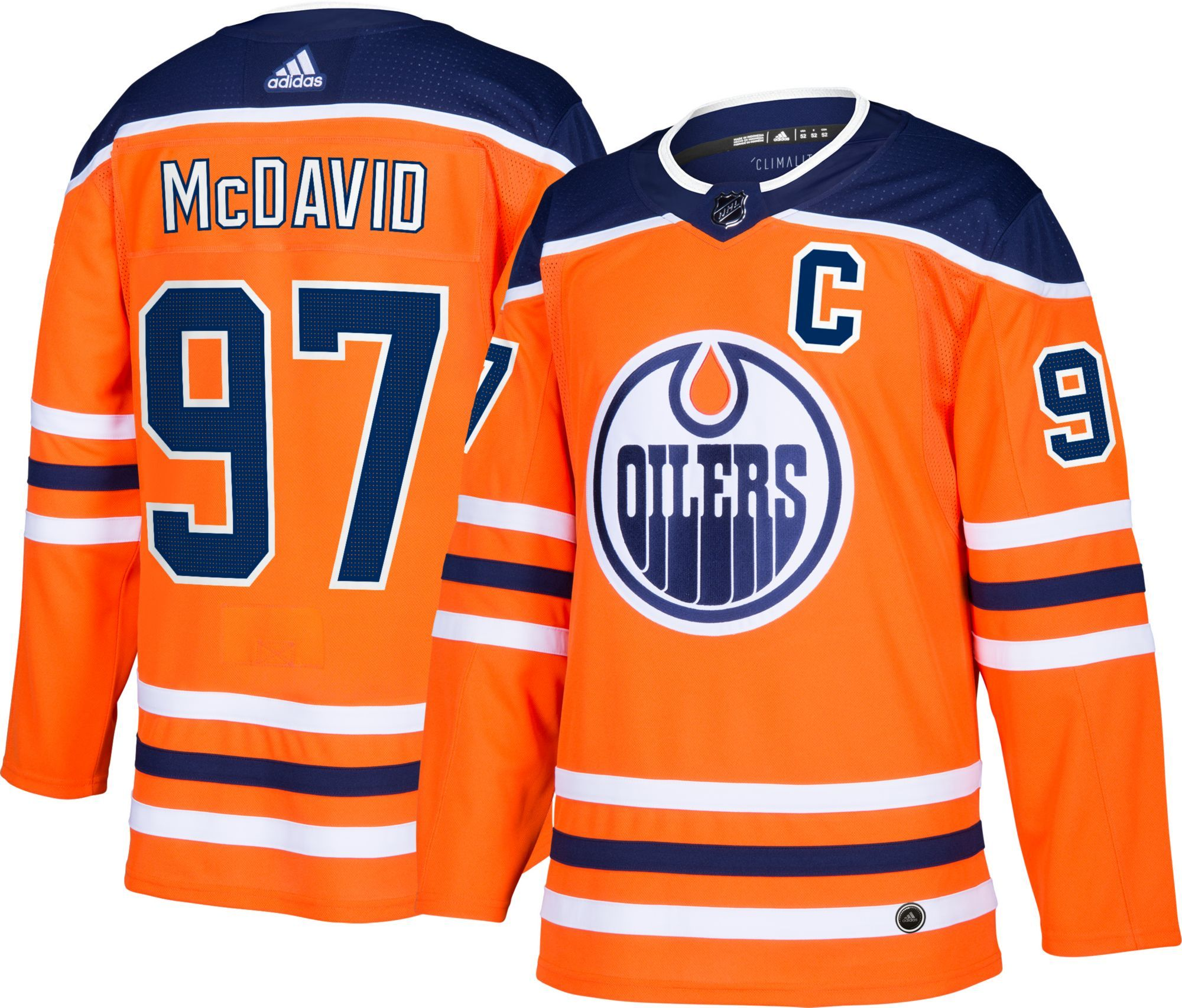 reputable site 0b6ff 04011 adidas Men's Edmonton Oilers Connor McDavid #97 Authentic ...