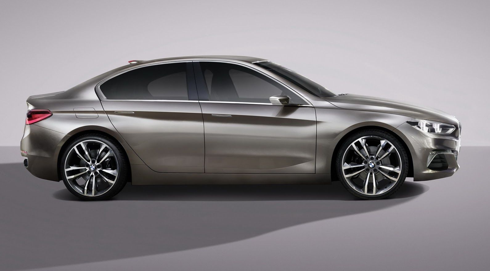 Photo Gallery For The Article Bmw 1 Series Sedan Previewed With New