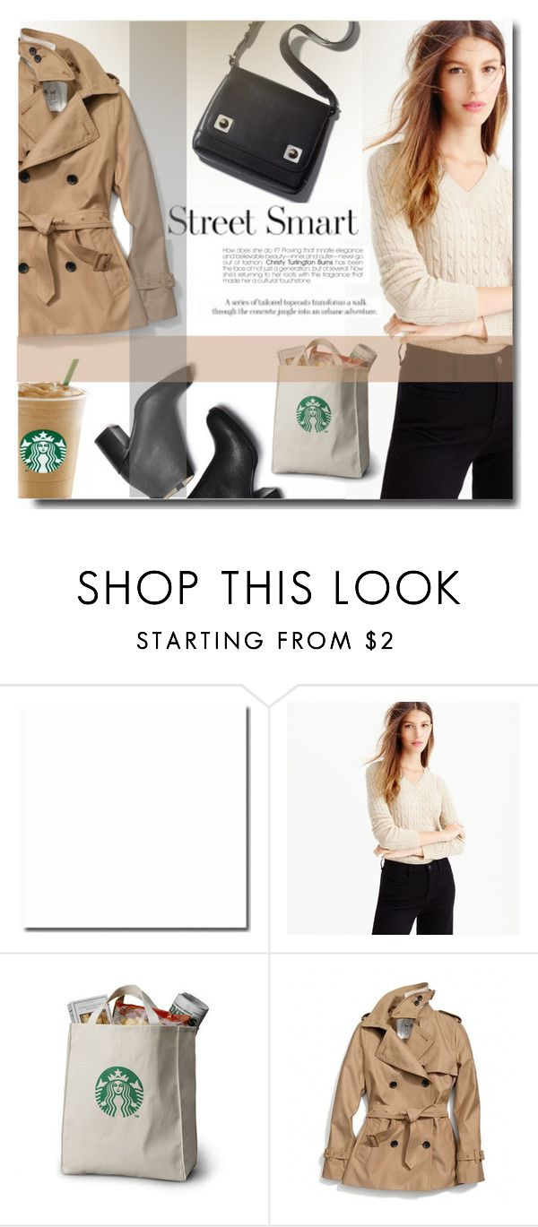"""Street smart 6"" by ira-melnik ❤ liked on Polyvore featuring мода, J.Crew, Coach, women's clothing, women, female, woman, misses и juniors"