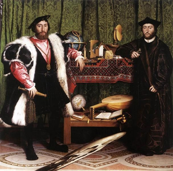 The Ambassadors - Hans Holbein the Younger (1533)