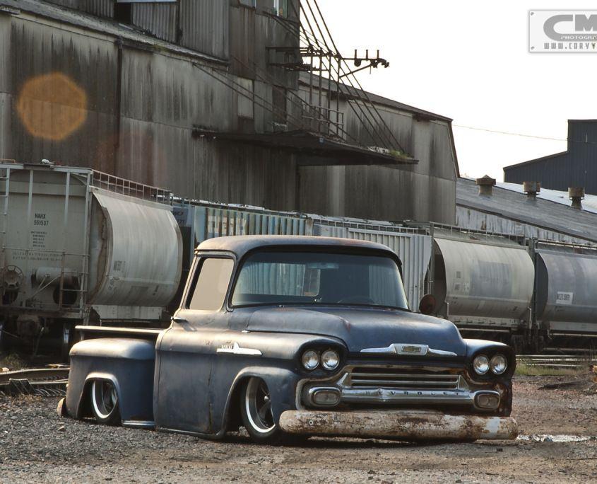 1958 Chevy Apache Stoners Speed Shop Rat Rod 004 Chevy Trucks