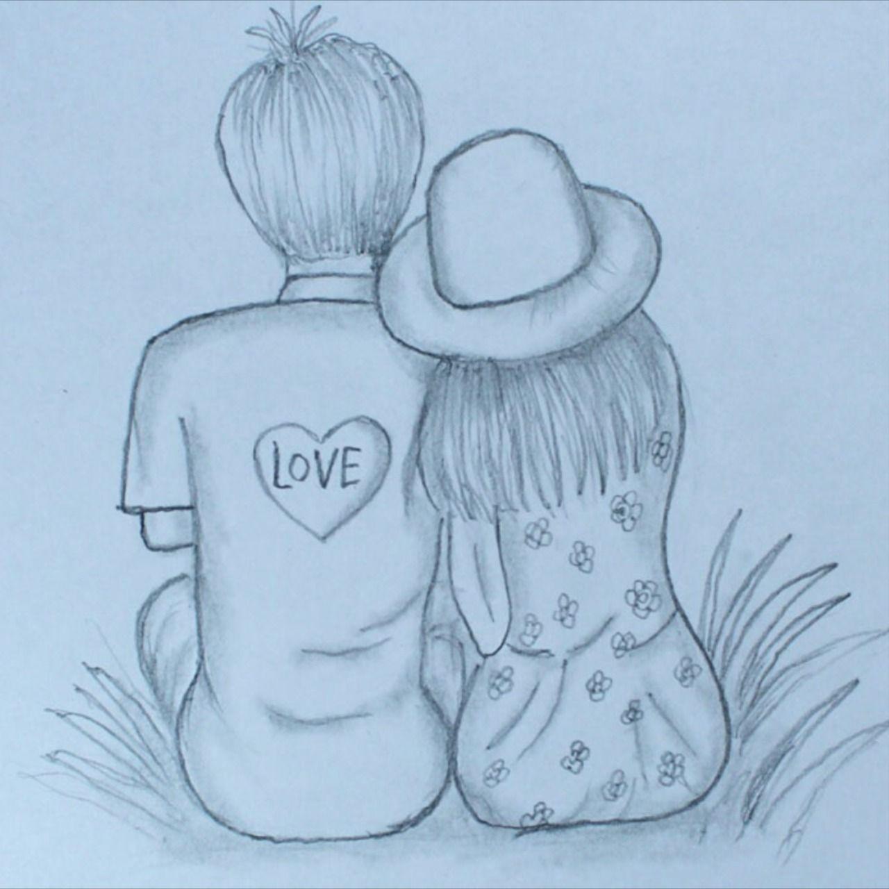 Pin On Cute Girls Boys Drawing