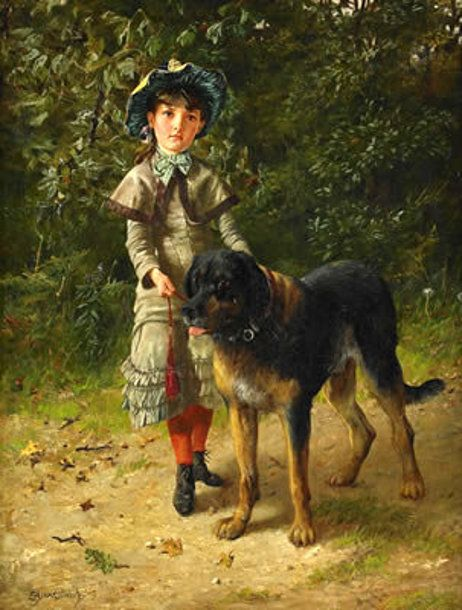 girl-with-dog1.jpg 462×610 pixels