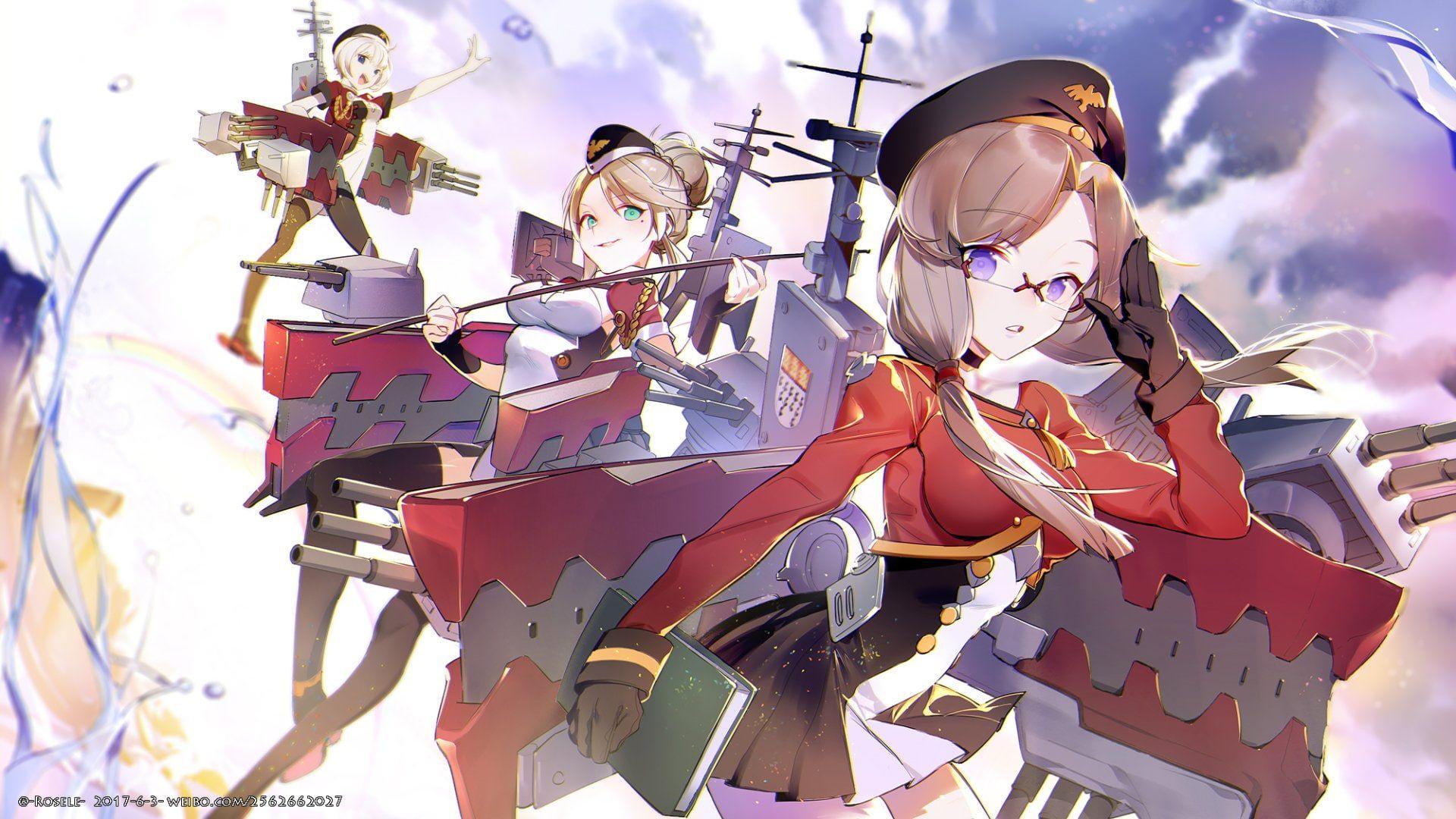 Anime Azur Lane Bilan Hangxian 1080P wallpaper