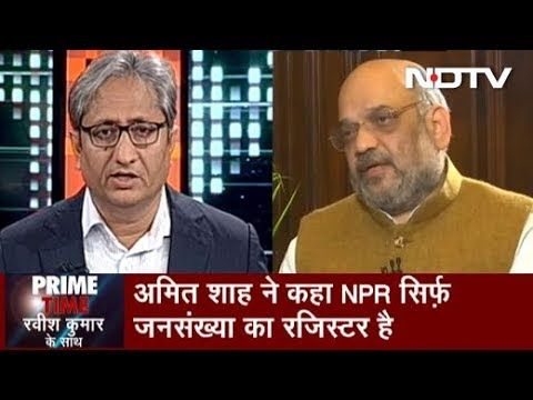 Prime Time With Ravish Kumar, Dec 25, 2019 - YouTube