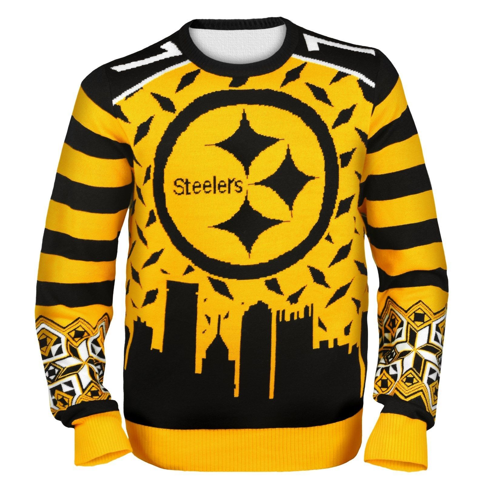 new style 74d47 c32f4 Details about NFL Football Team Logo PLAYER Ugly Sweater ...