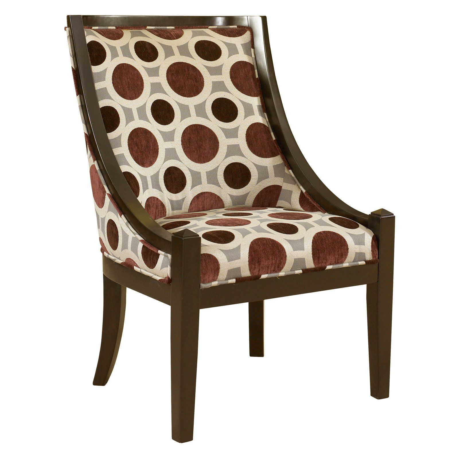 Powell High Back Accent Chair High