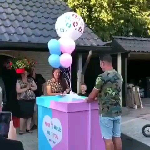 Best gender reveal video