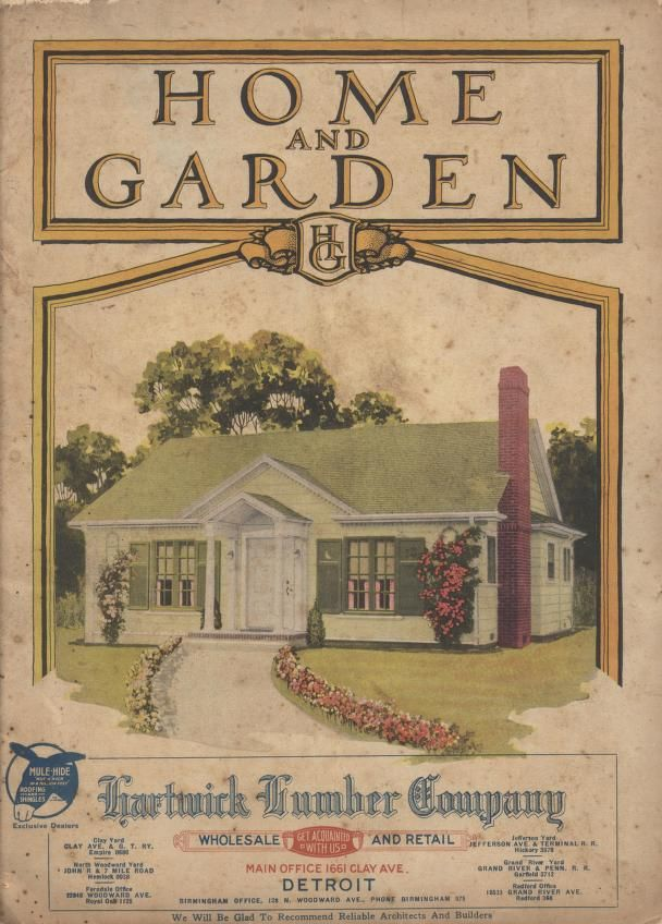 Home And Garden Wm A Radford Free Download Borrow And Streaming Internet Archive Vintage House Plans House And Home Magazine Home And Garden