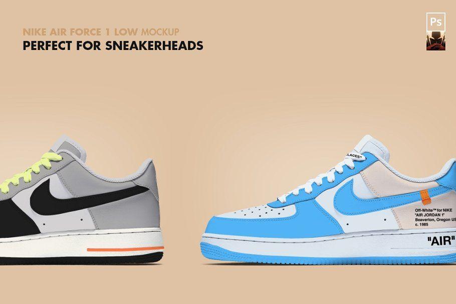 Nike Air Force 1 Low Mockup Nike Air Nike Air Force Air Force 1