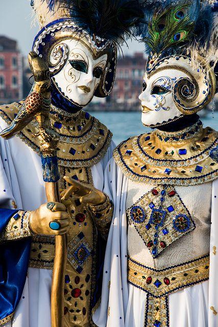 Carnaval de venecia disfraz en pareja mascaras y - Mascaras de carnaval de venecia ...