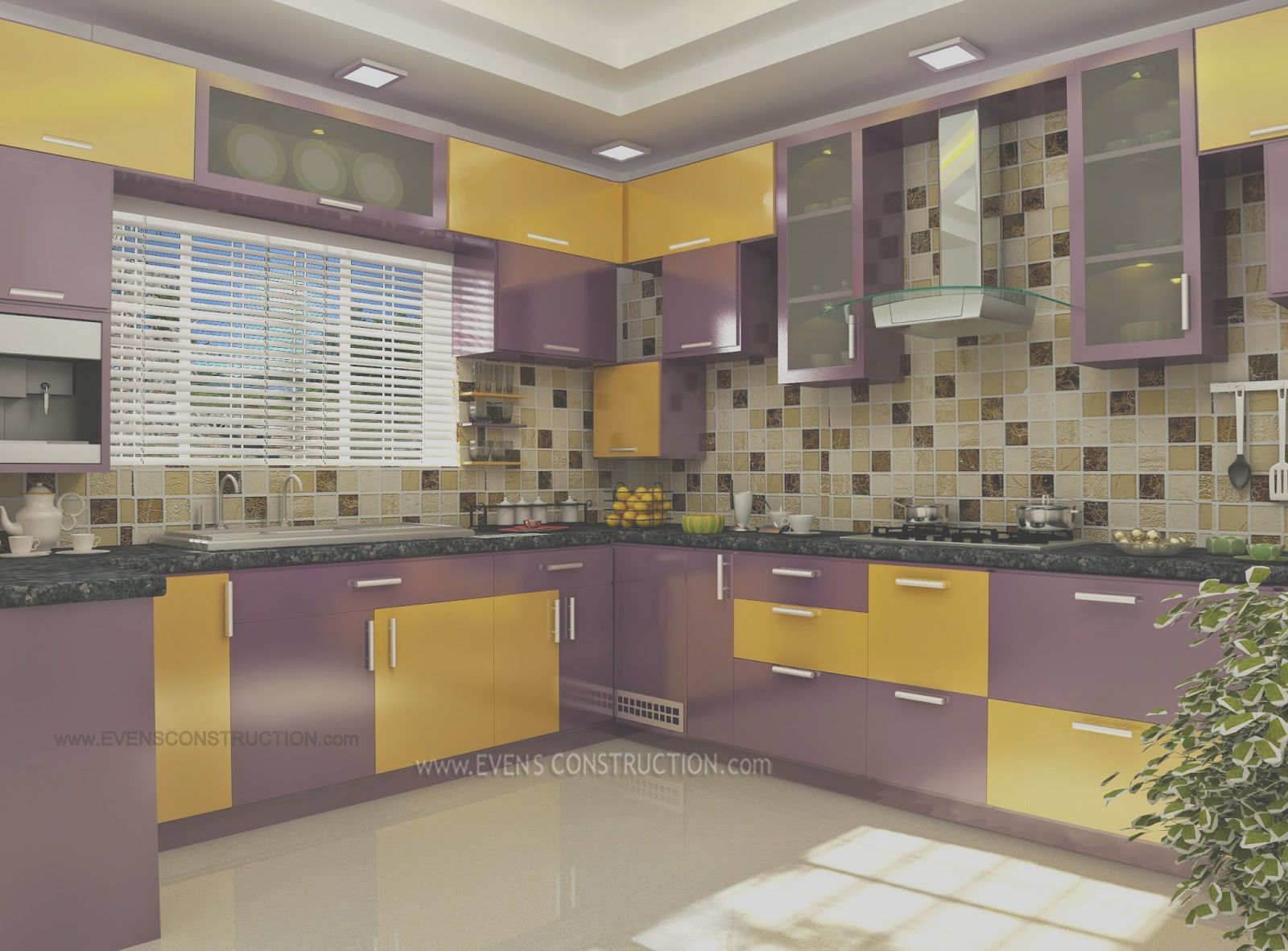 Modern Kitchen Kerala Style 29 Best Kerala Homes Interior Designs Images On Pinterest Evens Con In 2020 Kitchen Window Design Kitchen Furniture Design Kitchen Design