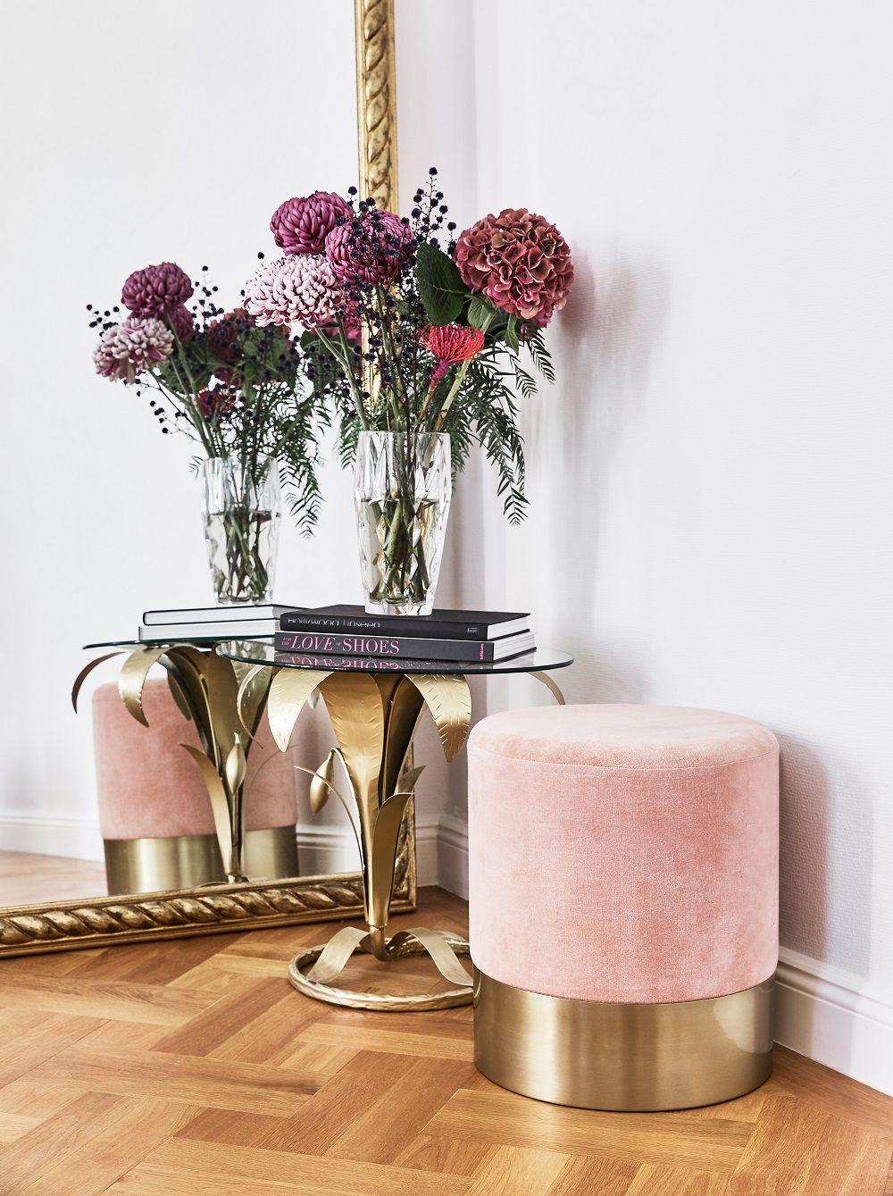 marvelous einfache dekoration und mobel raumduefte fuer den flur #1: Samt-Hocker Harlow