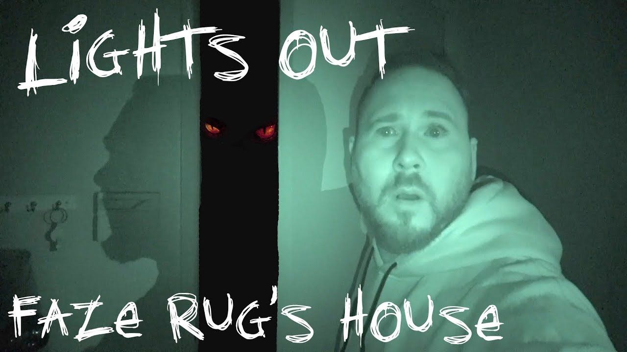 Lights Out Challenge In Faze Rug S Haunted House Omargoshtv Haunted House Haunting The Darkest