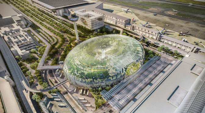 PROJECT JEWEL AT CHANGI AIRPORT BY SAFDIE ARCHITECTS