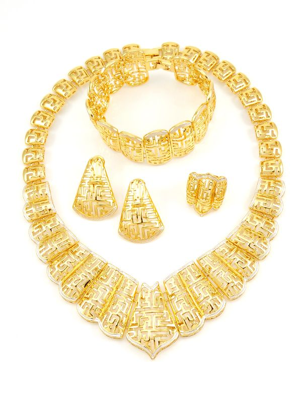 Gold plated fashion jewelry wholesale 39