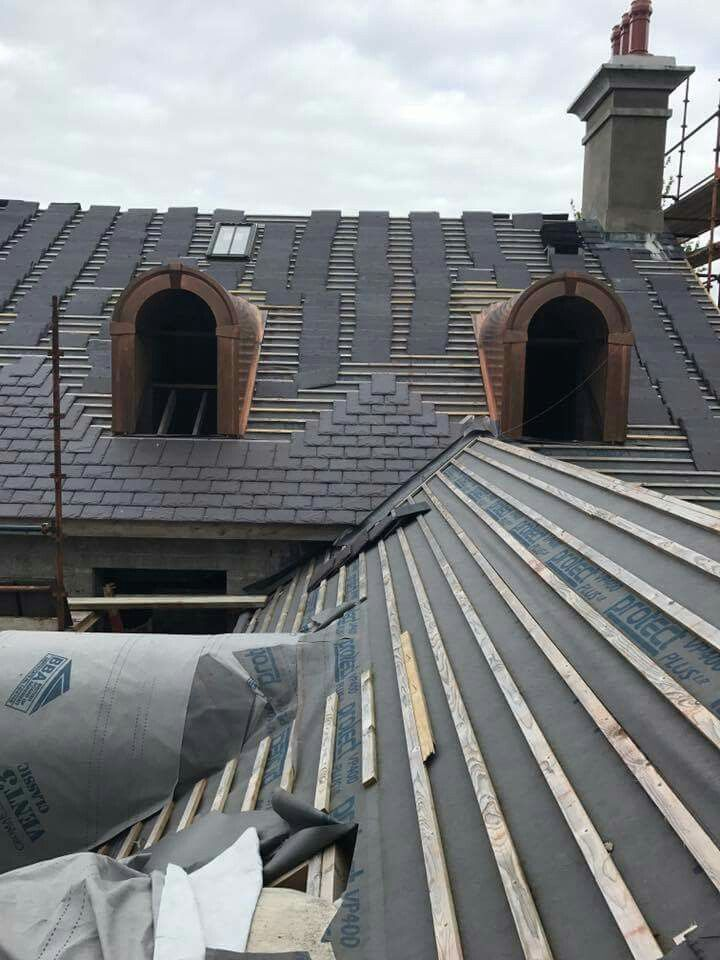 Welsh Slate Re Roof With Images Slate Roof Roofer Roof