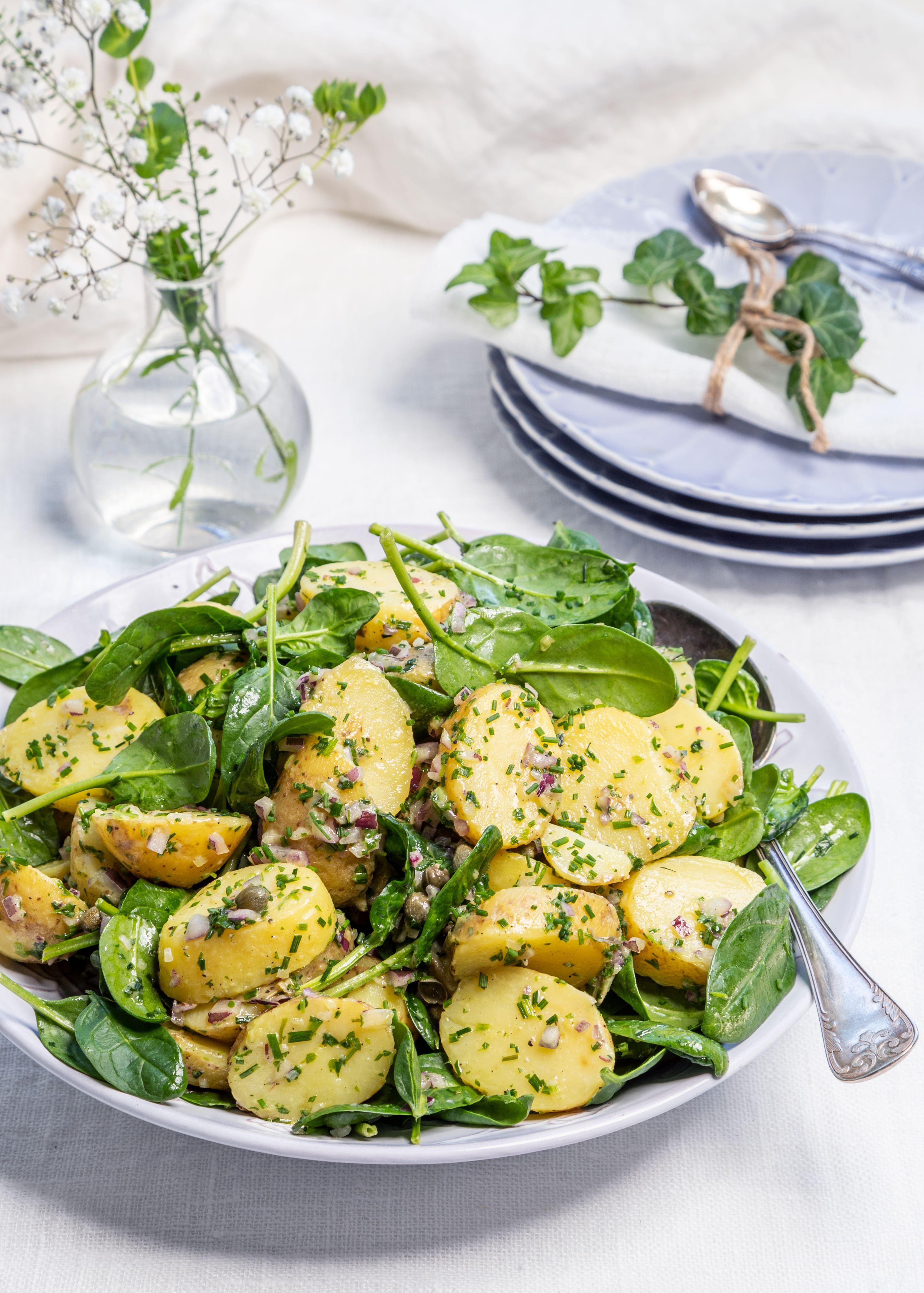 Fransk potatissallad kapris