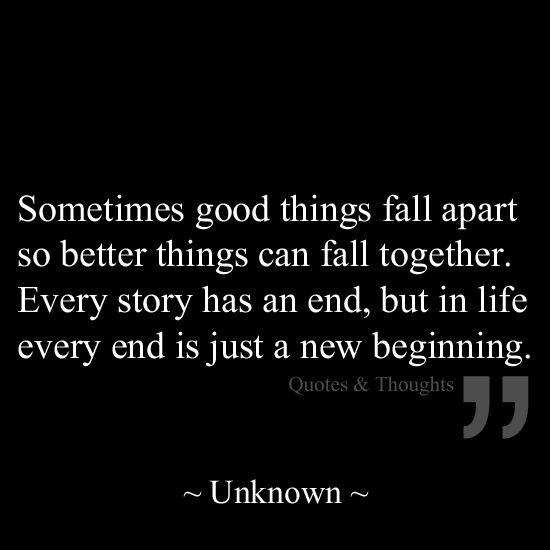 All Things Fall Apart Plot: Sometimes Good Things Fall Apart So Better Things Can Fall