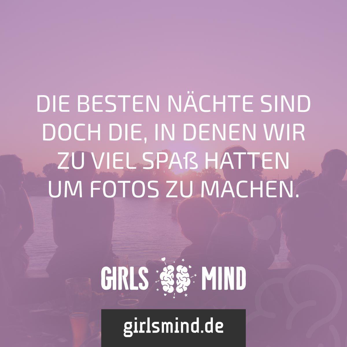 Viel Spaß heute Abend! Mehr Sprüche auf: .girlsmind.de #party