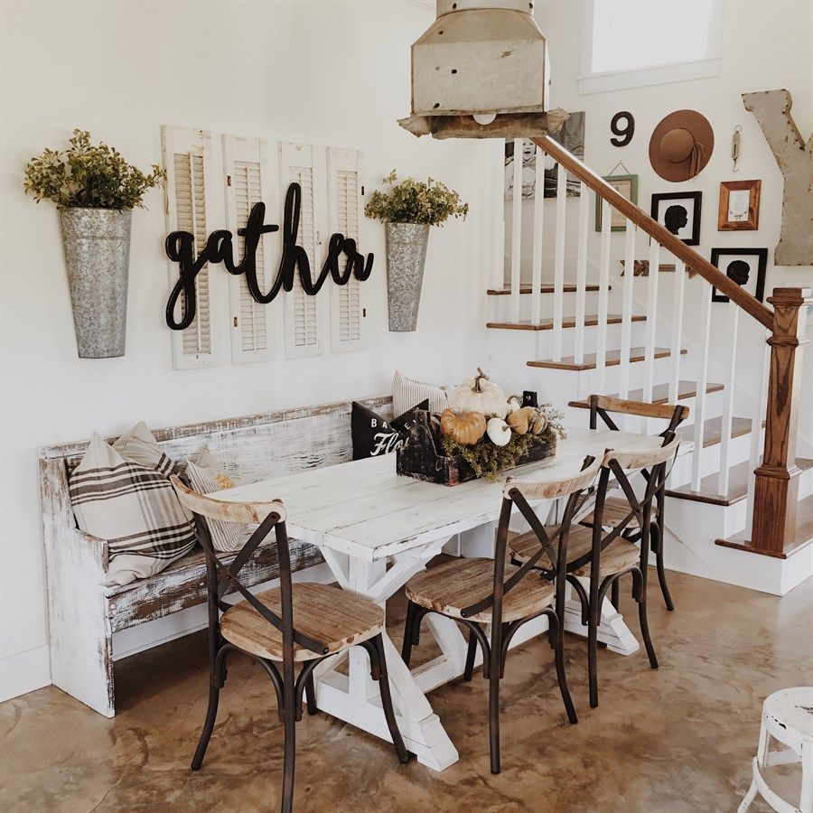 Reclaimed Wood Metal Dining Chairs images