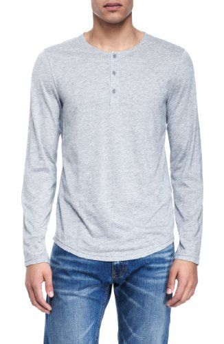 Armani Exchange Mens Sleek Henley. BUY it on Amazon: http://amazonpartner.us/?p=381