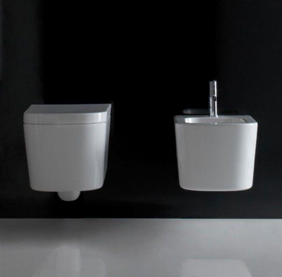 inodoro suspendido porcelana blanca meg11. diseño de antonio