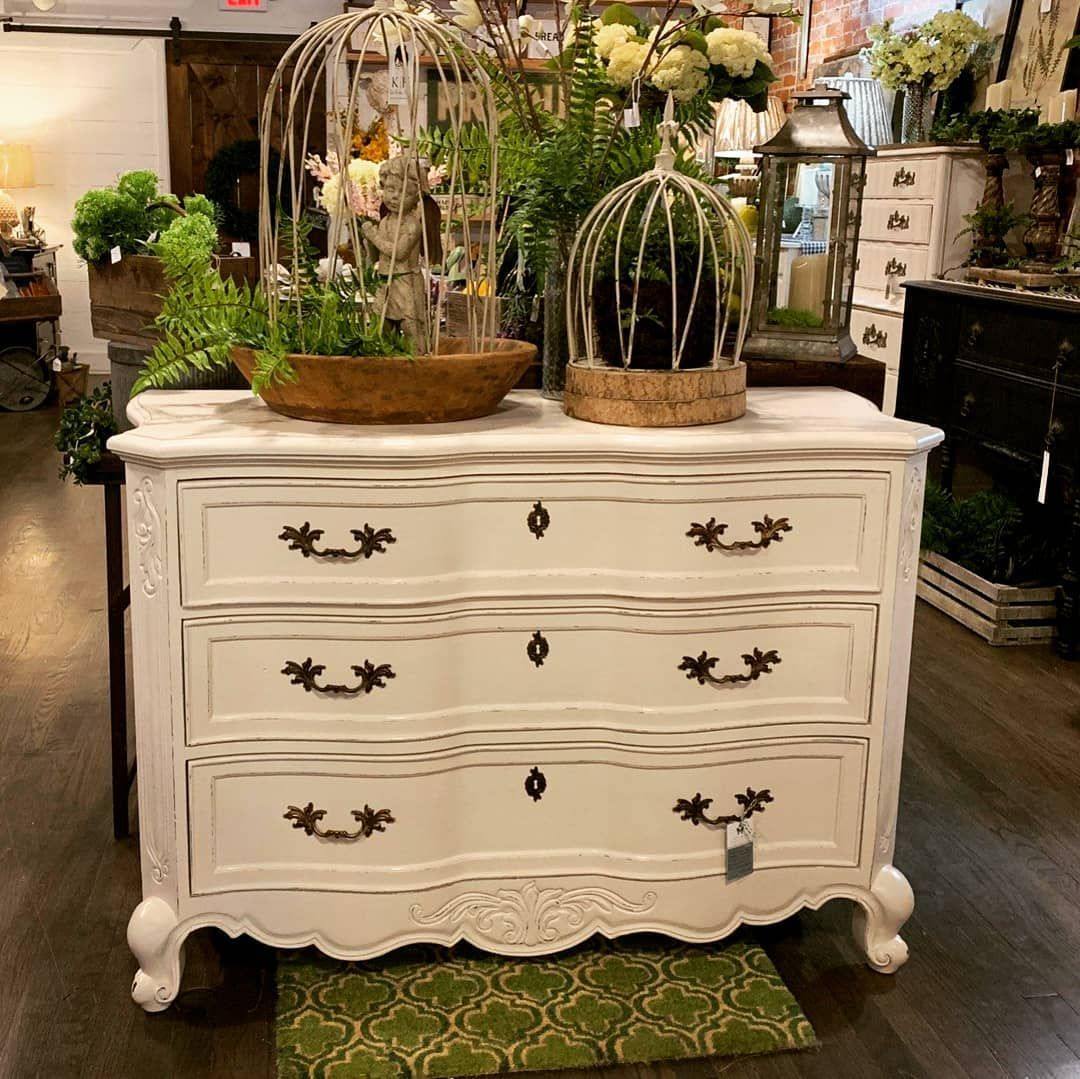 3 Drawer Dresser painted with Amy Howard One Step paint in