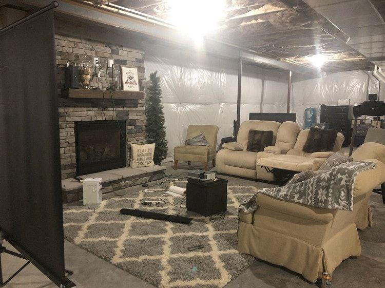 The Top 30 Unfinished Basement Ideas Interior Home And Design Unfinished Basement Unfinished Basement Bedroom Unfinished Basement Walls