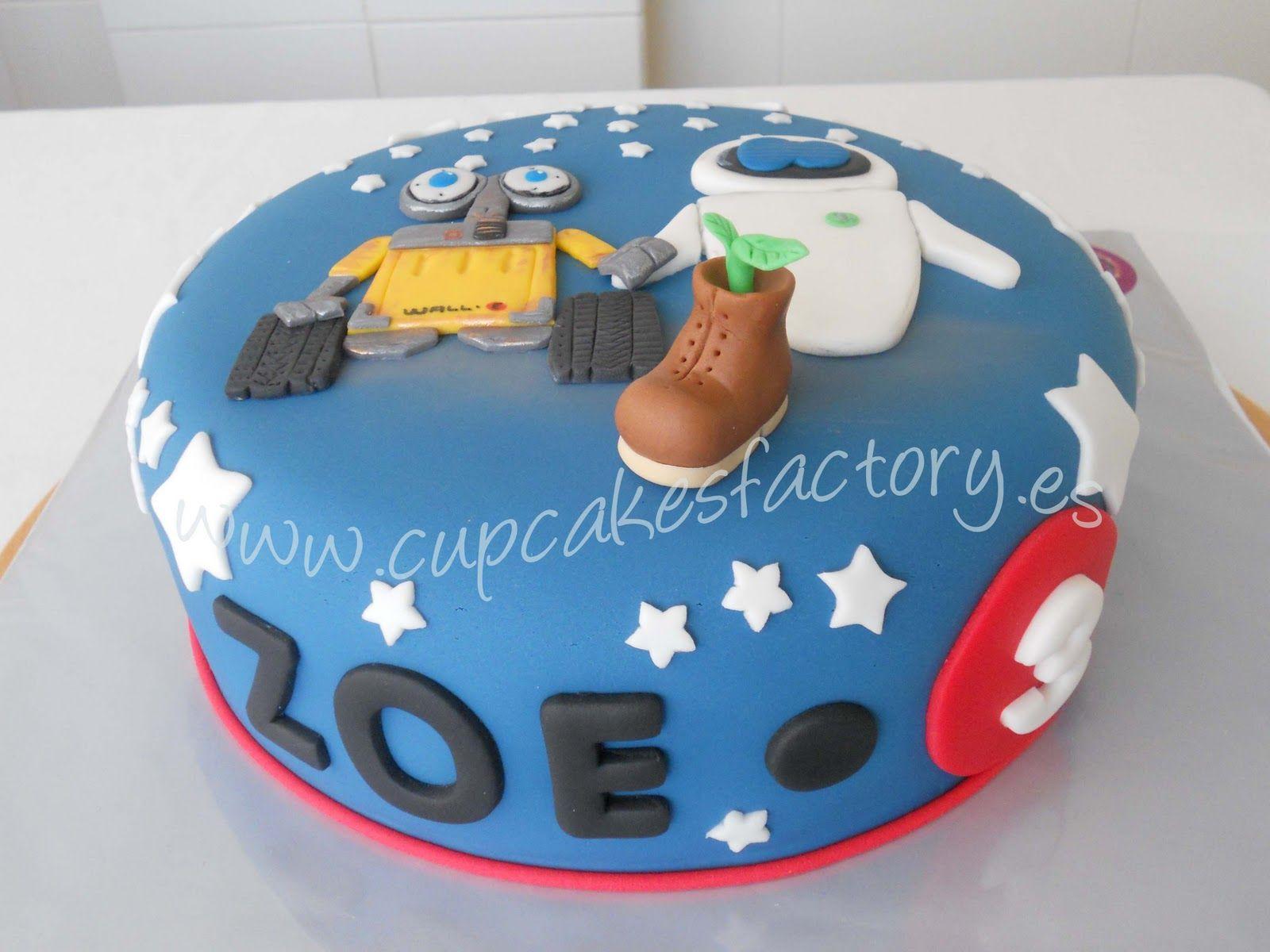 El Blog Tarta Wall E Y Eve Para Zoe And Cake